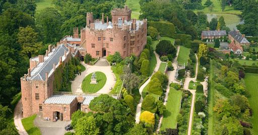 Powis CastleAerialNorthCastlesHistoric Sites